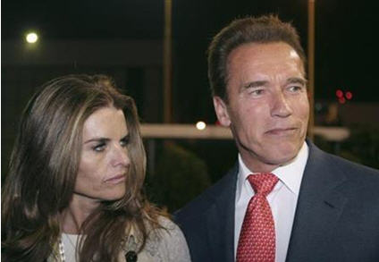 Arnold Schwarzenegger and Maria Shriver Divorce Case