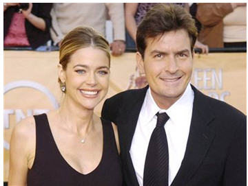 Denise Richards and Charlie Sheen Divorce Case