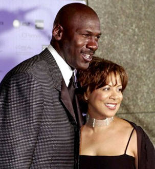 Michael Jordan and Juanita Vanoy Divorce Case