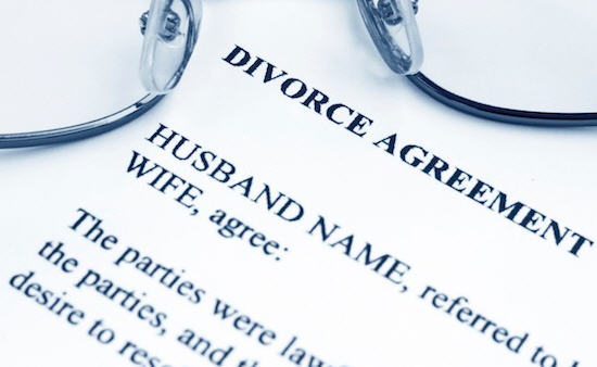 The Divorce Agreement